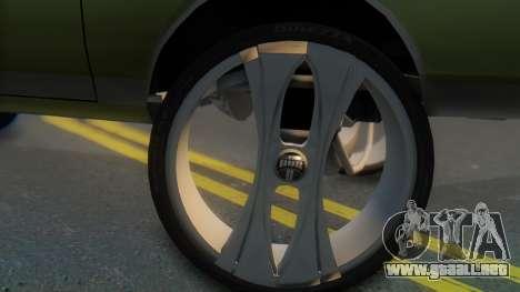 Chevrolet Caprice para GTA San Andreas vista posterior izquierda