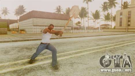 Red Dead Redemption Shovel para GTA San Andreas tercera pantalla