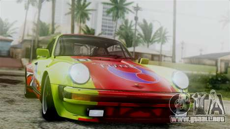 Porsche 911 Turbo (930) 1985 Kit C para vista lateral GTA San Andreas