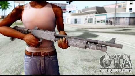 Combat Shotgun from Resident Evil 6 para GTA San Andreas tercera pantalla