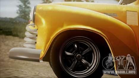 Chevrolet 3100 Truck 1951 para la visión correcta GTA San Andreas