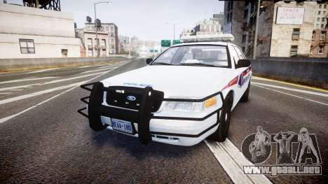 Ford Crown Victoria Bohan Police [ELS] para GTA 4