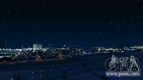 Skybox Real Stars and Clouds v2 para GTA San Andreas tercera pantalla