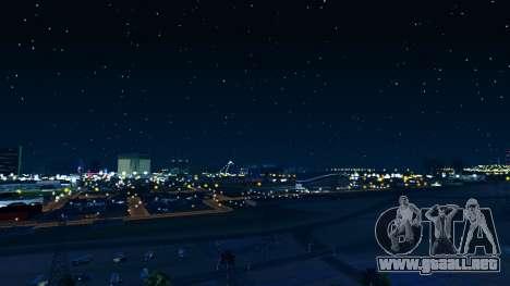 Skybox Real Stars and Clouds v2 para GTA San Andreas tercera pantalla