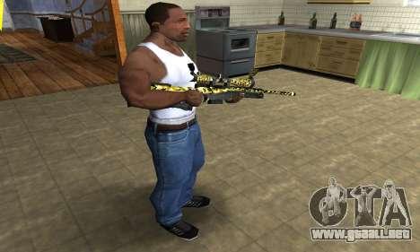 Cub Sniper Rifle para GTA San Andreas tercera pantalla