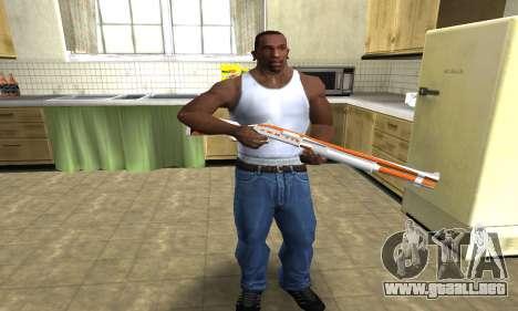 Asiimov Shotgun para GTA San Andreas tercera pantalla