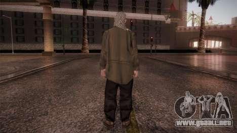 Terroristas para GTA San Andreas tercera pantalla