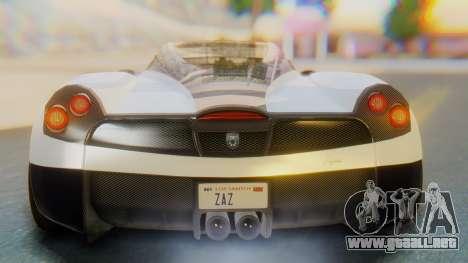 GTA 5 Pegassi Osiris IVF para la vista superior GTA San Andreas