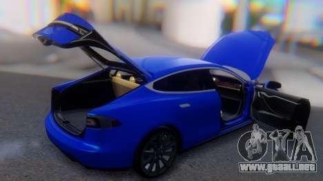 Tesla Model S para la vista superior GTA San Andreas