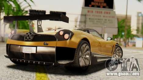 Pegassi Osyra Extra 2 para GTA San Andreas left