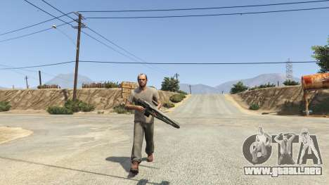 GTA 5 Halo 5 Light Rifle 1.0.0 tercera captura de pantalla