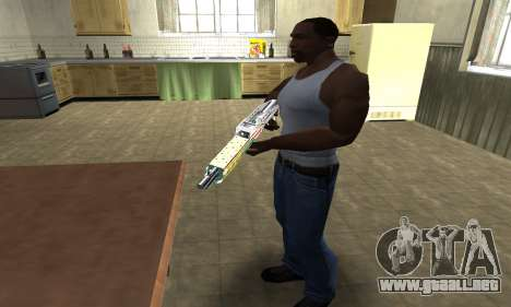 Ganja SPAS-12 para GTA San Andreas tercera pantalla
