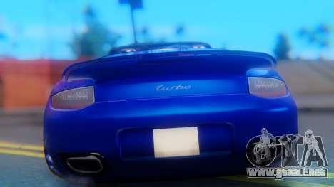 Porsche 911 2010 Cabrio para visión interna GTA San Andreas