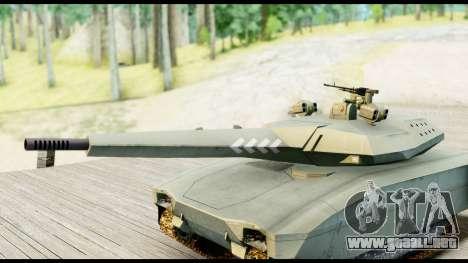 PL-01 Concept para GTA San Andreas vista posterior izquierda
