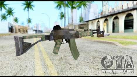 AK-47 from Resident Evil 6 para GTA San Andreas segunda pantalla