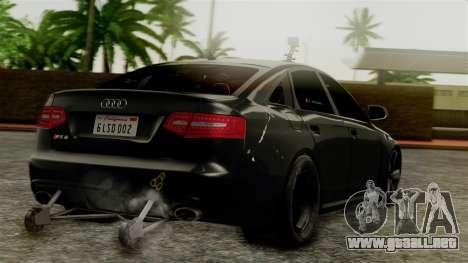 Audi RS6 Civil Drag Version para GTA San Andreas left