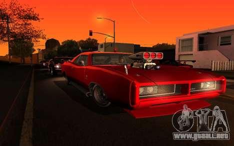 Zolta ENB para GTA San Andreas sucesivamente de pantalla