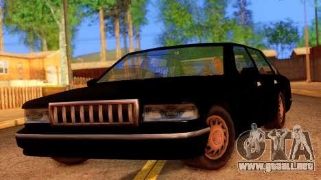 FBI Undercover Unmarked Premier para GTA San Andreas