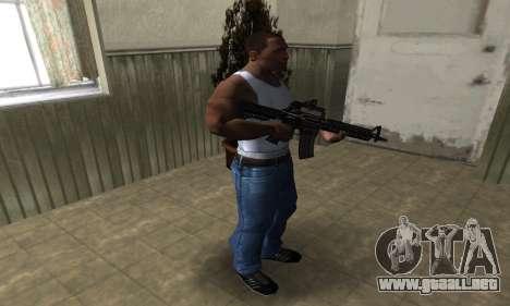 Brighty Leopard M4 para GTA San Andreas tercera pantalla