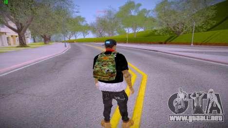 Fresco para GTA San Andreas tercera pantalla