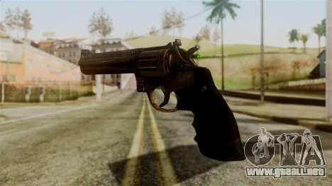 Colt Revolver from Silent Hill Downpour v1 para GTA San Andreas segunda pantalla