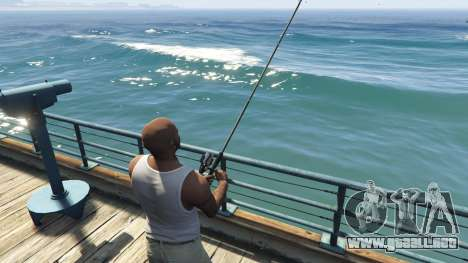 GTA 5 Fishing Mod 0.2.7 BETA sexta captura de pantalla