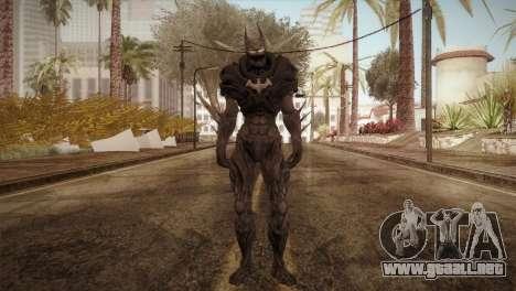 Batman Nightmare Skin para GTA San Andreas segunda pantalla