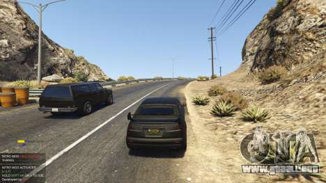 GTA 5 Nitro Mod (Xbox Joystick support) 0.7 cuarto captura de pantalla