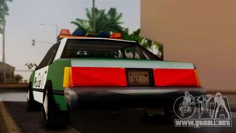 VCPD Cruiser para GTA San Andreas left