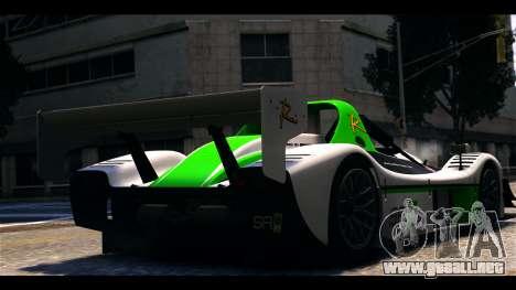 Radical SR8 RX para GTA 4 left