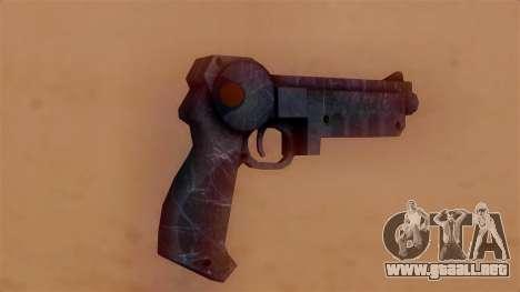 Laser Pistol para GTA San Andreas segunda pantalla