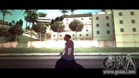 La piel trazador Alite la FAMA de la Tienda para GTA San Andreas segunda pantalla