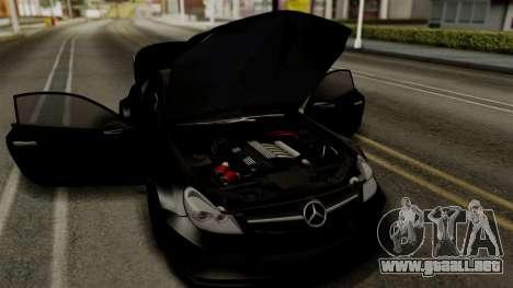 Mercedes-Benz SL65 E-Tuning para GTA San Andreas vista hacia atrás