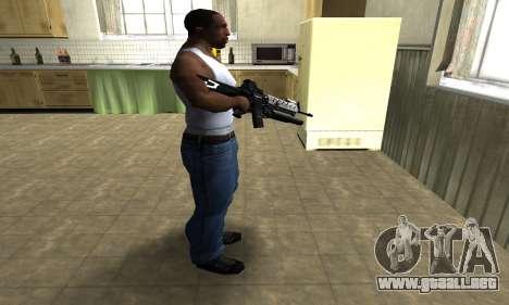 Modern Black M4 para GTA San Andreas tercera pantalla