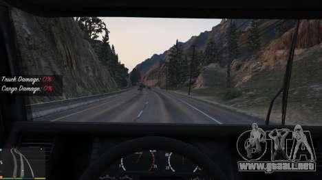GTA 5 Trucking Missions 1.5 segunda captura de pantalla