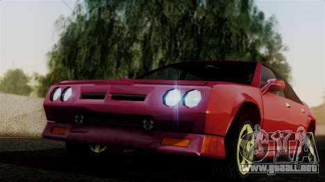 4-door Buffalo para GTA San Andreas