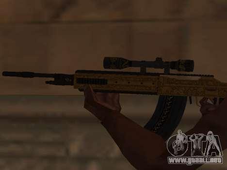 Marksman Rifle para GTA San Andreas tercera pantalla