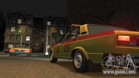 El USO de 2105 Gorsvet para GTA 4 left