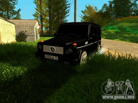 Mercedes-Benz G 320 para GTA San Andreas left