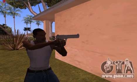 Deagle from Battlefield Hardline para GTA San Andreas segunda pantalla