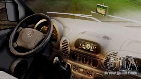 Mercedes-Benz Sprinter Ambulance Vittal para la visión correcta GTA San Andreas