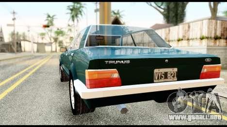 Ford Taunus 2.3 para GTA San Andreas left