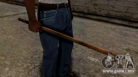 Steel Pipe para GTA San Andreas segunda pantalla
