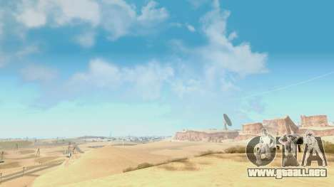Skybox Real Stars and Clouds v2 para GTA San Andreas