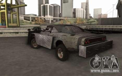Dodge Charger Infernal Bulldozer para GTA San Andreas left