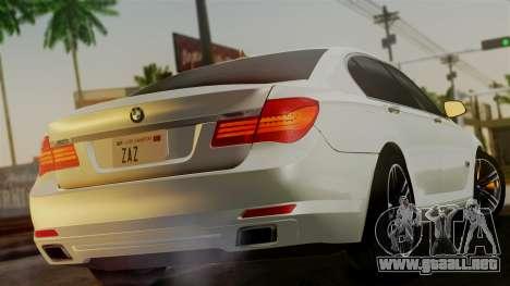BMW 7 Series F02 2013 para GTA San Andreas left