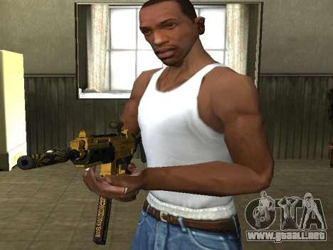 GTA 5 SMG para GTA San Andreas tercera pantalla