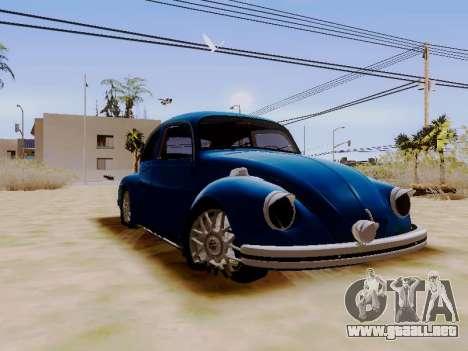 Volkswagen Beetle 1980 Stanced v1 para la visión correcta GTA San Andreas