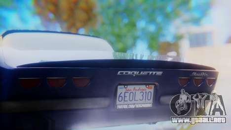 Invetero Coquette BlackFin v2 SA Plate para vista inferior GTA San Andreas