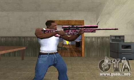 Lamen Sniper para GTA San Andreas tercera pantalla